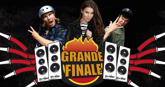 Grande Finale på Kuopio torg 12.5.2016