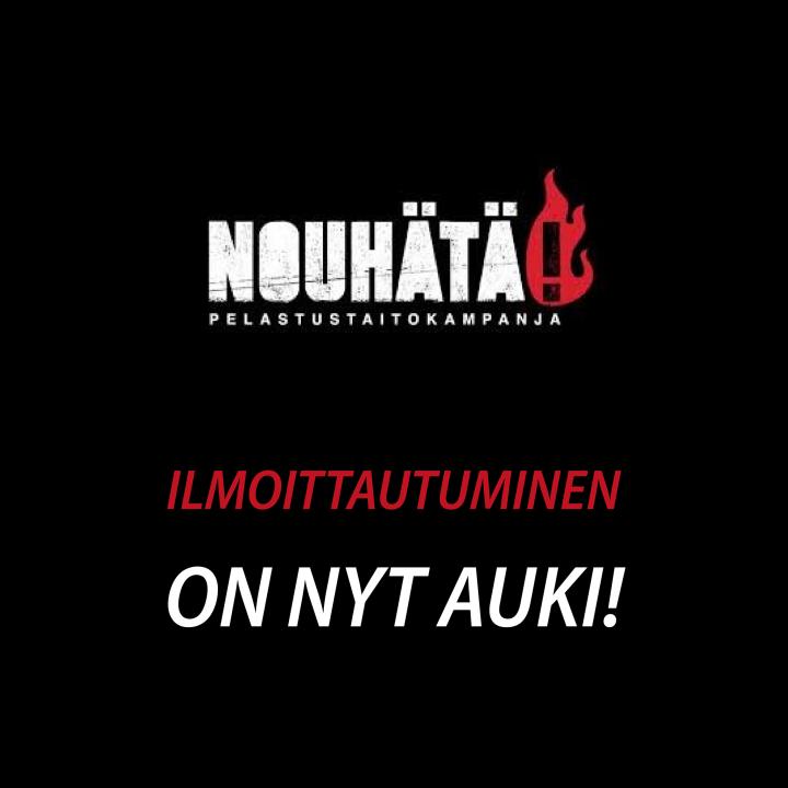 NouHätä! 2022 -kampanjen har startat