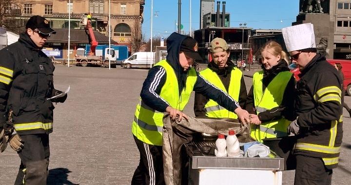 Rekordmånga 7-9-skolor deltar igen i NouHätä!-kampanjen