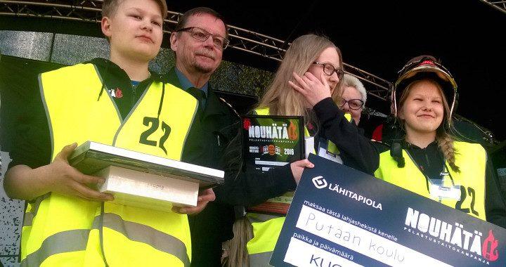 Putaan koulu Torniosta voitti NouHätä! -mestaruuden